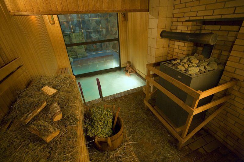 Краксен – сенная баня
